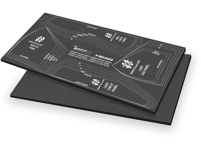 Head B2 Heave 5 Panel de inserción de flotabilidad 70x60cm, black/gold